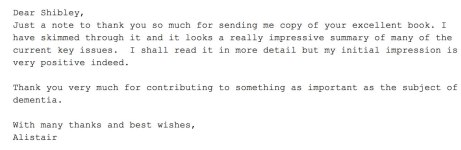 Alistair Burns Shibley Rahman email