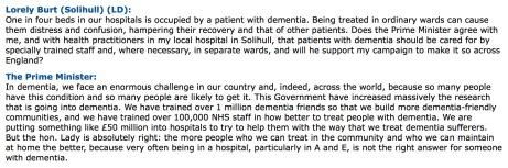 dementia sufferers