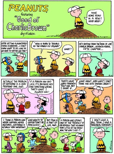 Peanuts on suffering