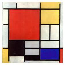 Mondrian panel