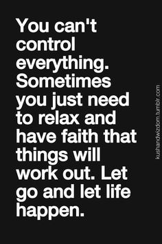 let life go